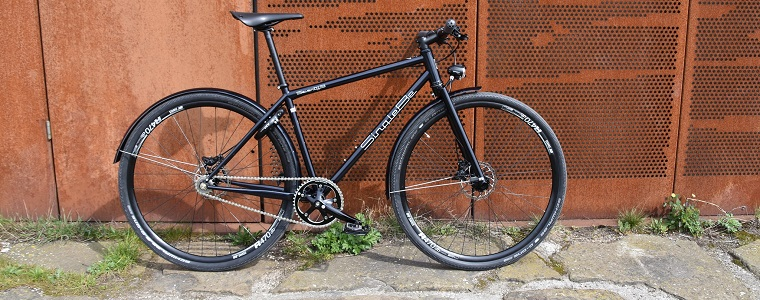 En de singlespeed commuter is klaar!